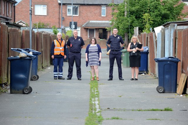 Extra patrols and police raids in Southwick's as campaign to clear