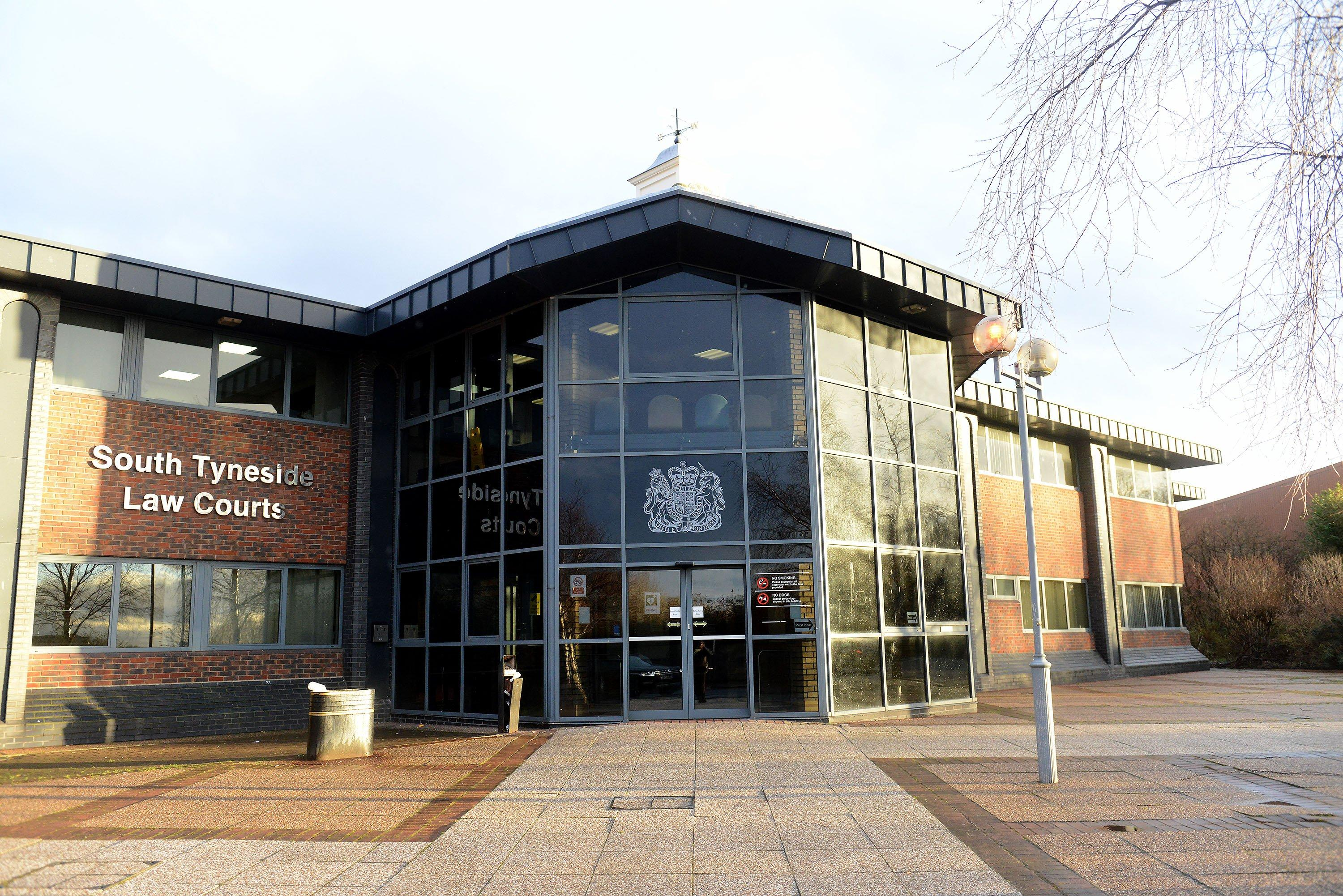 Theft from Poundland and B & M and damaging shop windows at Subway , Lidl and Ladbrokes : Defendants from Sunderland , South Tyneside and East Durham in court
