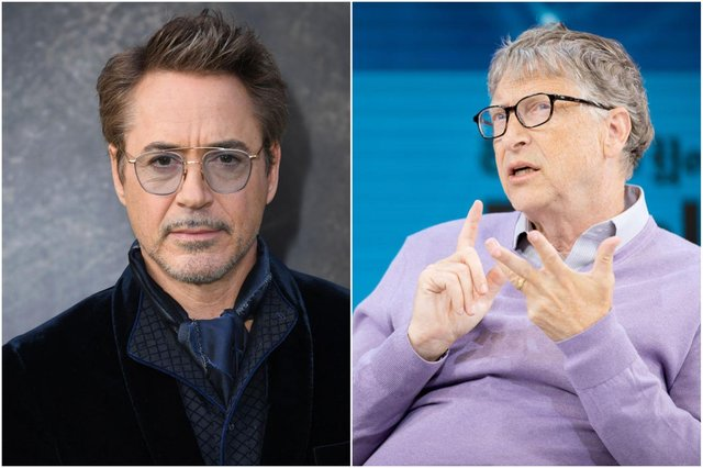 Funds backed by Robert Downey Jnr (left) and Bill Gates have backed Turntide
