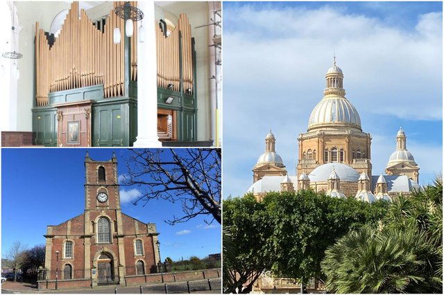 The church organ from the former Holy Trinity Church is being moved to Malta