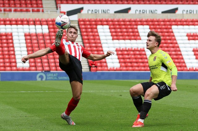 Who impressed for Sunderland against Northampton Town?