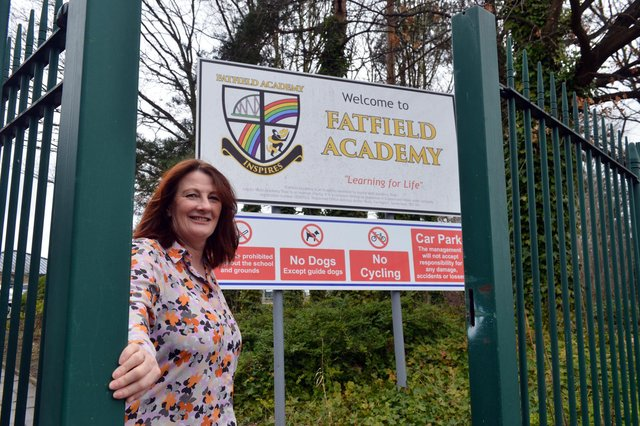 Fatfield Academy headteacher Tracey Pizl  prepares to welcome back all the school's pupils on March 8.