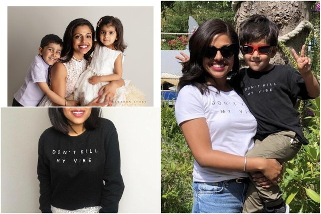 Preety has launched a Don't Kill My Vibe t-shirt to raise funds for NECCR