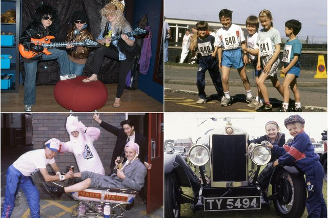 How many of these 1990 photos do you remember?