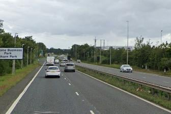The collision happened on the A1231 between Washington and Sunderland.