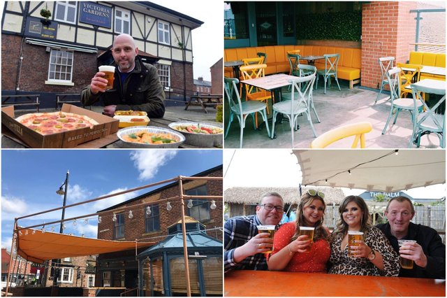 Beer gardens are back