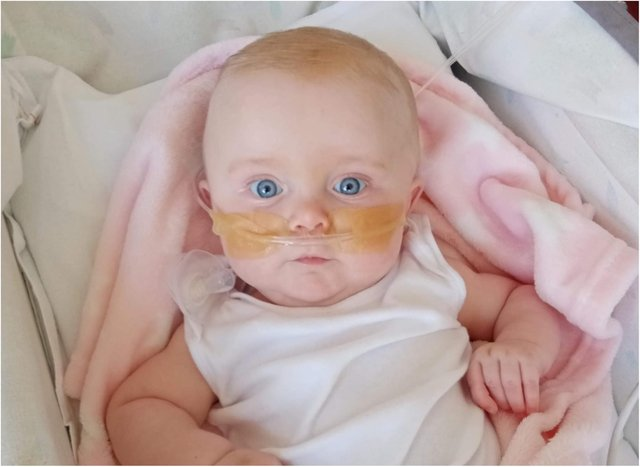 Dolcie was diagnosed with type 1 spinal muscular atrophy on June 1, 2021.