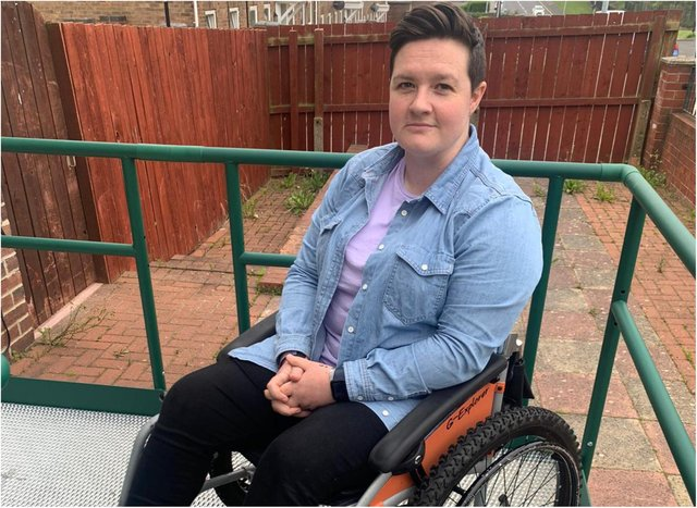 Ally says she has accepted that she won't be able to walk again following her functional neurological disorder diagnosis.