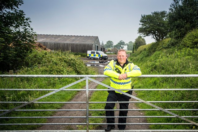 Cops in the North, episode five, features Wildlife Officer Lee Davidson. Copyright 72 Films/BBC, photographer: Ryan McNamara.