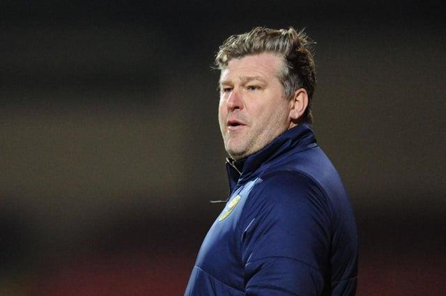 Oxford United boss Karl Robinson.