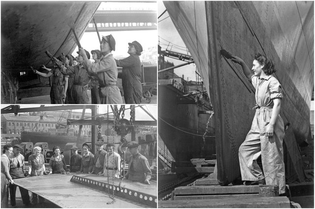 The real Wearside women who kept the war-time shipyards afloat