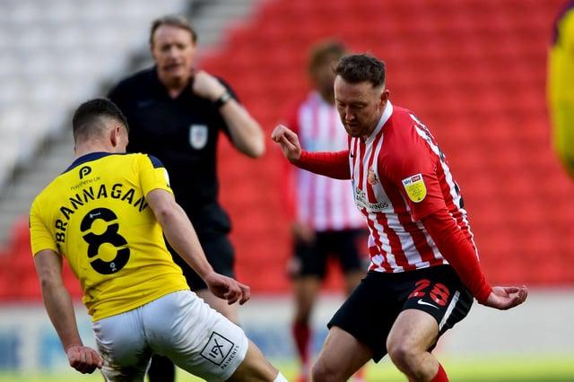 Aiden McGeady in action for Sunderland.