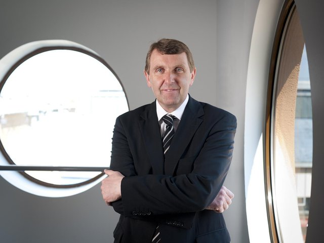 Ken Bremner, Chief Executive of South Tyneside and Sunderland NHS Foundation Trust.