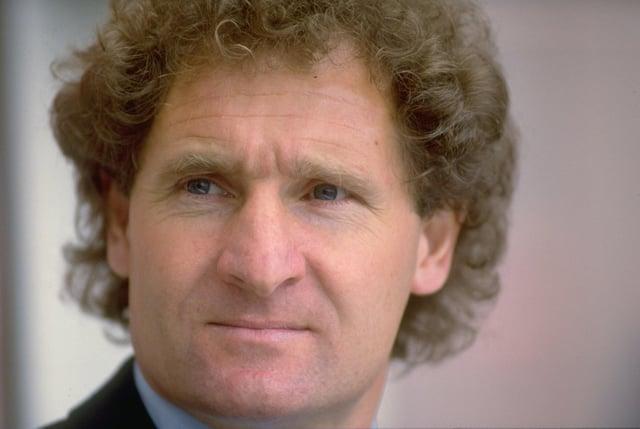 20 April 1992: Sunderland manager Malcolm Crosby.