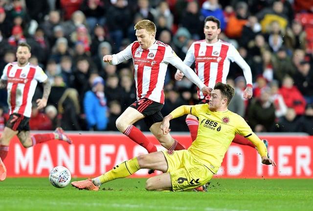 Sunderland forward Duncan Watmore.