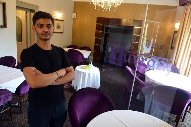 Yuvraaj owner Monie Hussain is looking forward to welcoming customers back