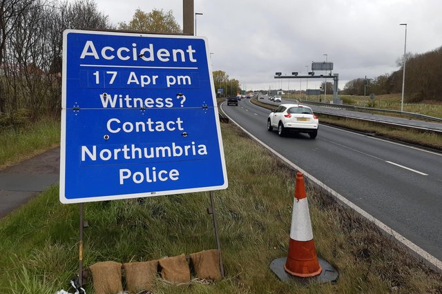 Northumbria Police has appealed for help as it investigates the collision which claimed the life of Dylan Timby, 26, from the Houghton area.