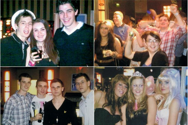 Is their a face you recognise in these images from 10 years ago?