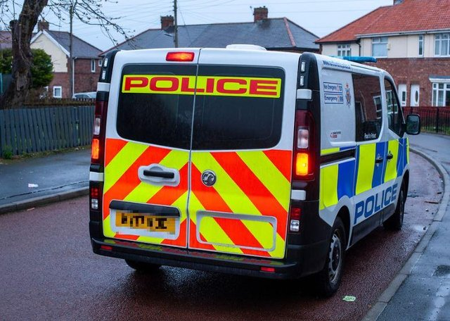Police are investigating after intruders forced their way into a house on Rodney Close and stole a car.