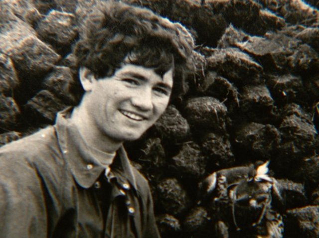 Robert Nairac as a young man on holiday in Ireland.