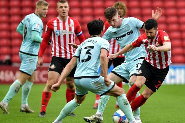 Sunderland beat Rochdale at the Stadium of Light on Saturday.