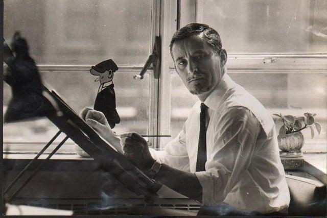 Reg Smythe, creator of Andy Capp.