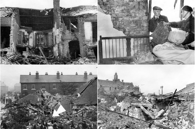 There were scenes of devastation but stories of miraculous survival too. Join us as we take a look back to 1941.