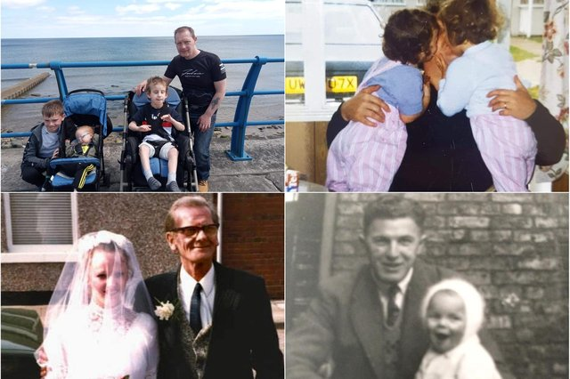 Sunderland Echo readers have been sharing their treasured pictures and memories for Father's Day.