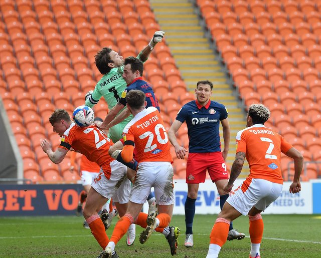 Sunderland were unable to break down a resolute Blackpool side