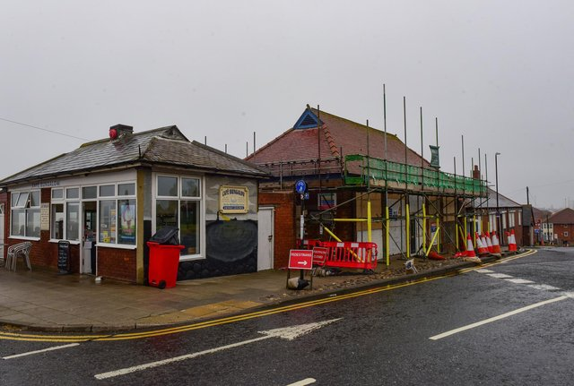 Work has started on transforming the former toilet block in Roker into a gin bar