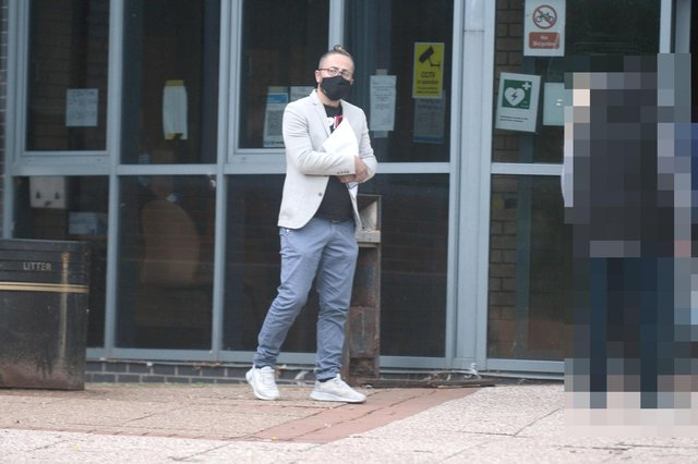 Majid Mojdeh admitted to breaching coronavirus restrictions at South Tyneside Magistrates' Court.