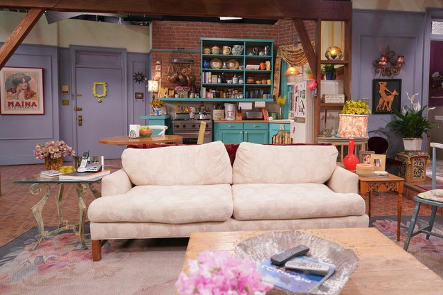 One of the famous sets from Friends. Picture: Terence Patrick/HBO Max/PA Wire.