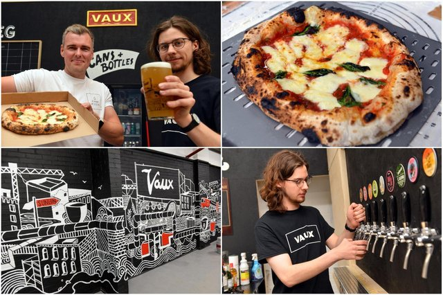 The new Vaux taproom opens this weekend