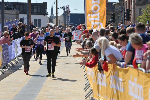 Finishers in the Sunderland City Runs 10k in 2019