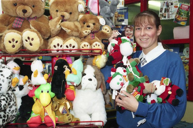 Look at the toys and games on offer at Joseph's in 1992. Did you love to shop there?