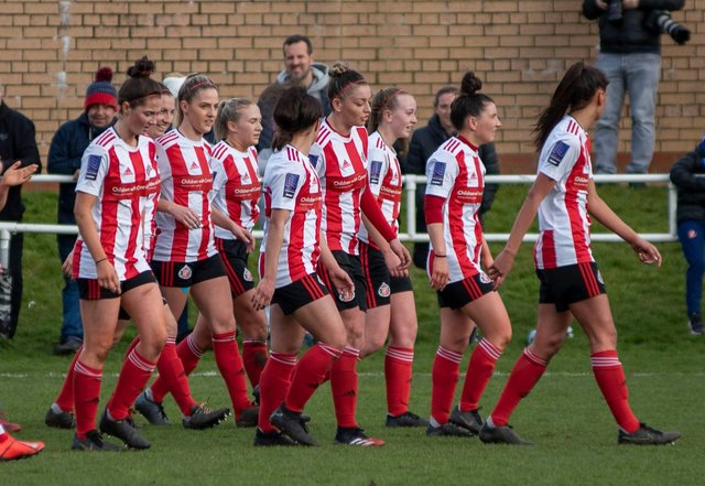 How Sunderland Ladies' title hopes could be impacted by men's National League decision to request season shutdown  - Photo by Colin Lock.