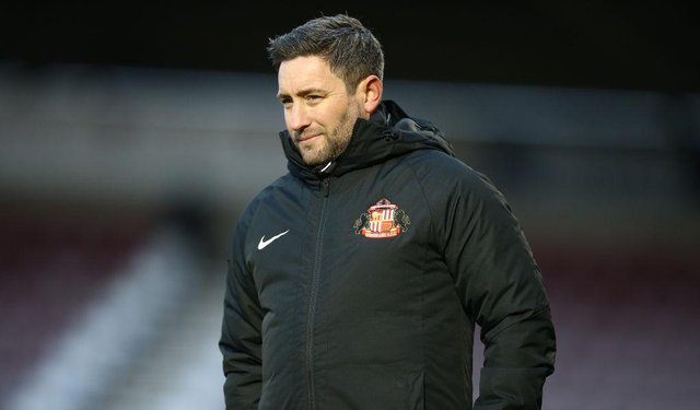 Sunderland manager Lee Johnson is preparing for a busy summer on the transfer front. (Photo by Pete Norton/Getty Images)