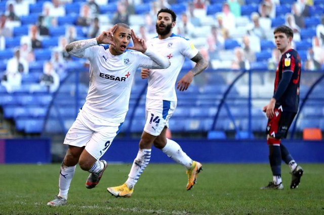 James Vaughan reveals what he wanted to 'put right' against Sunderland at Wembley