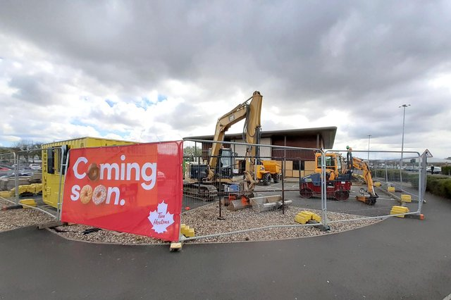 Work has started on the Tim Hortons at the former Frankie & Benny's site at The Galleries in Washington.