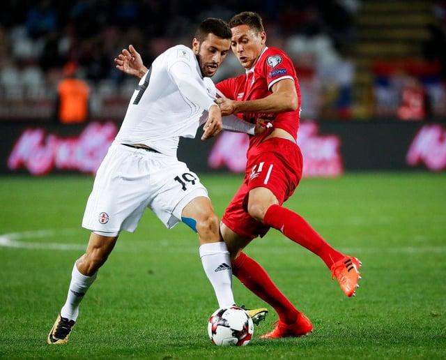 Sunderland are reportedly close to signing Georgia international Giorgi Aburjania. (Photo by Srdjan Stevanovic/Getty Images)