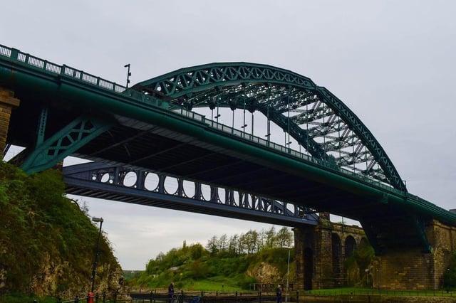 Wearmouth bridge, Sunderland