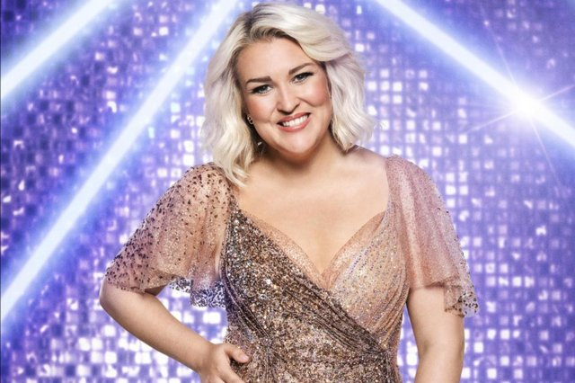 Sara Davies is starring in the new series of Strictly Come Dancing. Picture Ray Burmiston PA.