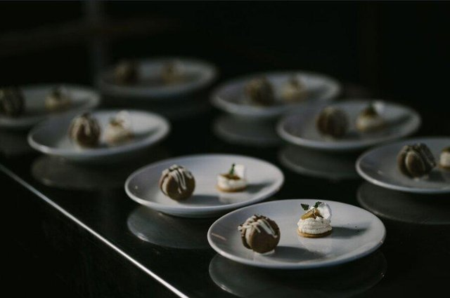 Canapés from Undisclosed