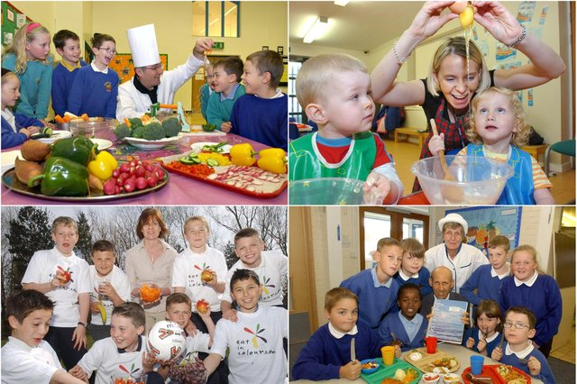 A 9-course series of photos to remind you of healthy eating scenes across Wearside and County Durham in years gone by.