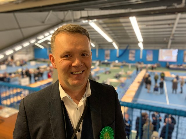 Sunderland Green Party councillor Dom Armstrong is resigning after clashing with the party nationally