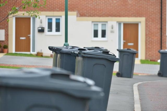 Sunderland City Council bin collection