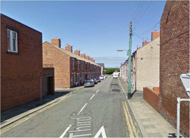 A man was found deceased in an address on Third Street, Blackhall. (Google Maps)