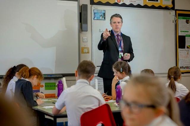 John Howe, Headteacher of Seaburn Dene Primary School. Picture: David Wood/University of Sunderland.