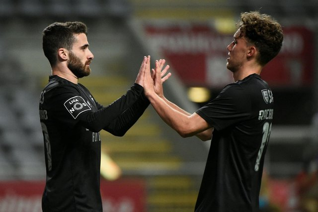 Newcastle United continued to be linked with Benfica forward Rafa Silva. (Photo by MIGUEL RIOPA/AFP via Getty Images)