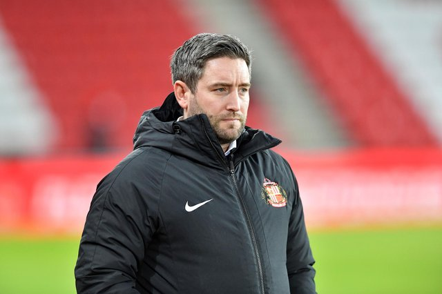 Lee Johnson welcomed the Sunderland squad back to the Academy of Light this week
